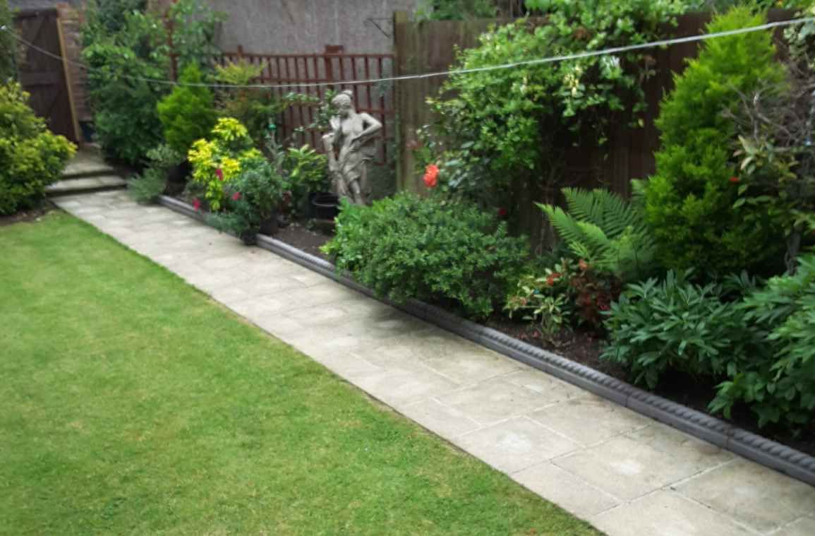 Full Rope Edging Slate Grey Plus 2 Free End Posts 1